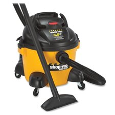 6 Gallon 3.0 Peak HP Wet / Dry Vacuum