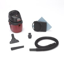 1.5 Gallon 2.0 Peak HP Hang On Wet / Dry Vacuum