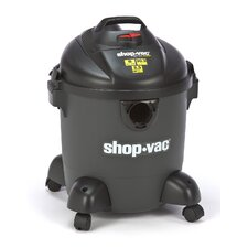8 Gallon 3.5 Peak HP QSP Quiet Deluxe Wet / Dry Vacuum