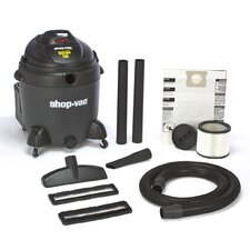 20 Gallon 6.5 Peak HP QSP Quiet Deluxe Wet / Dry Vacuum