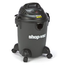 6 Gallon 3.0 Peak HP QSP Quiet Deluxe Wet / Dry Vacuum