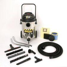 Industrial Multi Purpose 10 Gallon 2.5 Peak HP Two-Stage Wet / Dry Vacuum