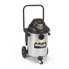 10 Gallon Stainless Steel 6.5 Peak HP Right Stuff Wet / Dry Vacuum