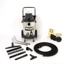 10 Gallon 3.0 Peak HP Two-Stage Industrial Wet / Dry Vacuum