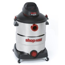 Stainless Steel  Series 16 Gallon 6.5 Peak HP Wet Dry Vac