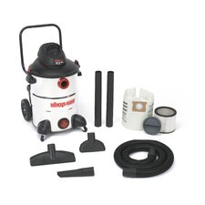 Stainless Steel  Series 16 Gallon 6.5 Peak HP Wet / Dry Vacuum