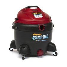 Wet Dry Vacuum with Built in Pump 16 Gallon 6.5 Peak HP