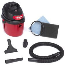 2.5 Gallon 2 HP Wet / Dry Vacuum