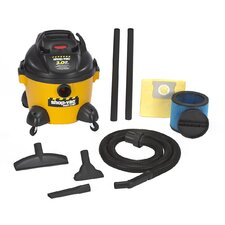 6 Gallon 3.0 Peak HP Right Stuff Wet / Dry Vacuum