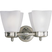 <strong>Progress Lighting</strong> Michael Graves 2 Light Vanity Light
