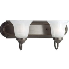<strong>Progress Lighting</strong> Builder Bath 2 Light Vanity Light