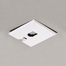 <strong>Progress Lighting</strong> Alpha Trak Canopy Kit - Flush Mount in Black