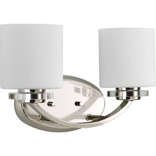 Nissé 2 Light Bath Vanity Light