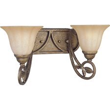 <strong>Progress Lighting</strong> Le Jardin 2 Light Vanity Light