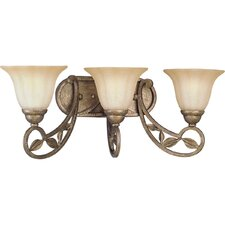Le Jardin 3 Light Vanity Light