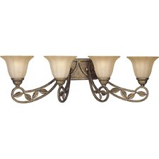Le Jardin 4 Light Vanity Light