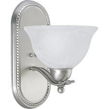 <strong>Progress Lighting</strong> Avalon Wall Sconce in Brushed Nickel - Energy Star