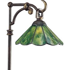 Landscape Glass Top Tiffany Path Light