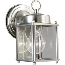 Brass Guard Square Style Incandescent Outdoor Lantern