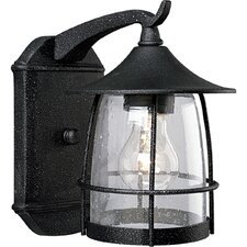 Prairie Wire Frame 1 Light Outdoor Wall Lantern
