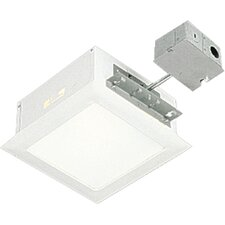 100W Incandescent Complete Square Non-IC Recessed Light with Housing