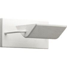 Halogen Mini Scoop Wall Sconce in White