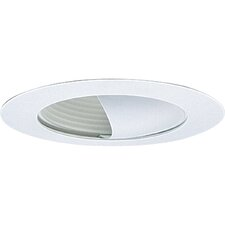 "6"" Incandescent Wall Washer Recessed Trim with Baffle"