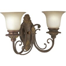 <strong>Progress Lighting</strong> Thomasville Messina  Wall Sconce in Aged Mahogany