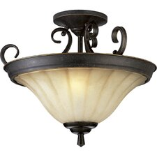 Le Jardin Semi Flush Mount or Pendant
