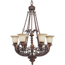 <strong>Progress Lighting</strong> Thomasville Messina 6 Light Chandelier