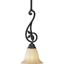<strong>Progress Lighting</strong> Le Jardin 1 Light Stem-Hang Pendant
