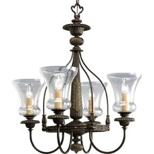 <strong>Progress Lighting</strong> Fiorentino 4 Light Chandelier