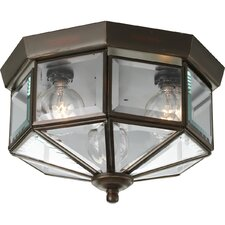 Octagonal Flush Mount