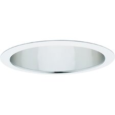 "8"" Open Baffle Recessed Trim in Clear Alzak"