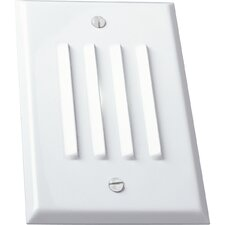 Everlume Mini Horizontal Step or Wall Louvered Light in White