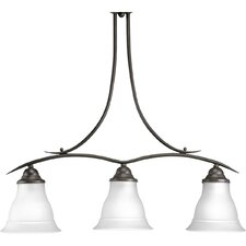 Trinity 3 Light Linear Chandelier