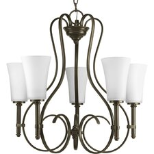 Flirt 5 Light Chandelier