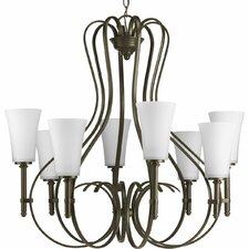 Flirt 8 Light Chandelier
