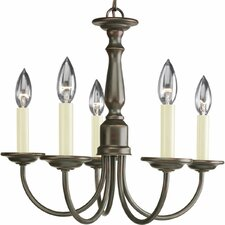 5 Light Candle Light Chandelier