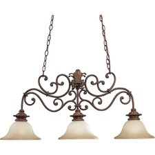 Messina 3 Light Mini Chandelier