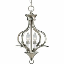 Trinity 2 Light Foyer Chandelier