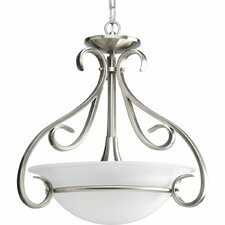 Torino 3 Light Inverted Pendant