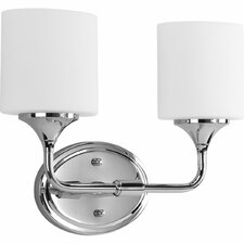 Lynzie 2 Light Bath Vanity Light