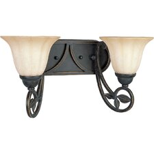 Le Jardin 2 Light Bath Vanity Light