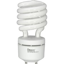 White Compact Fluorescent Light Bulb