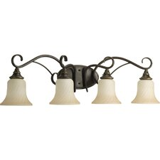<strong>Progress Lighting</strong> Kensington 4 Light Bath Vanity Light