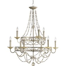 Chanelle 9 Light Candle Chandelier
