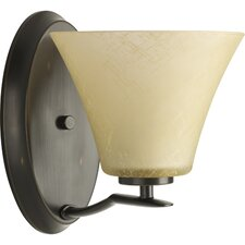 <strong>Progress Lighting</strong> Bravo 1 Light Vanity Light