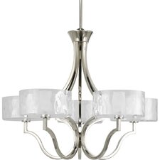 Caress 5 Light Chandelier