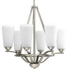 <strong>Progress Lighting</strong> 6 Light Moments Chandelier